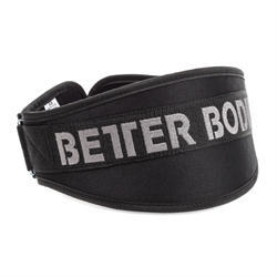 Better Bodies | Basic Gym Belt | Sort Træningsbælte