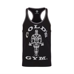 Golds Gym | Stringer Joe Contrast Black/Grey | Tank top