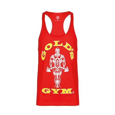Golds Gym | Stringer Joe Premium Red | Tank top