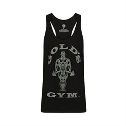 Golds Gym | Stringer Joe Tonal Black | Tank top