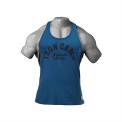 Gasp | Throwback Tank Ocean Blue |Tanktop