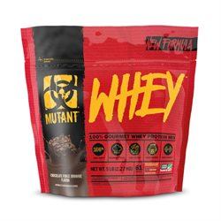 Mutant | Whey 2270g Chocolate Fudge Brownie | Proteinpulver