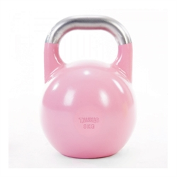 Taurus | 8 kg Competition Kettlebell | Pink